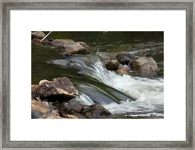 Framed Print featuring the photograph Gently Down The Stream by John Crothers
