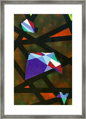 Geo Framed Print by Lola Connelly