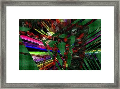 Geometric Digital Art Framed Print by Mario Perez