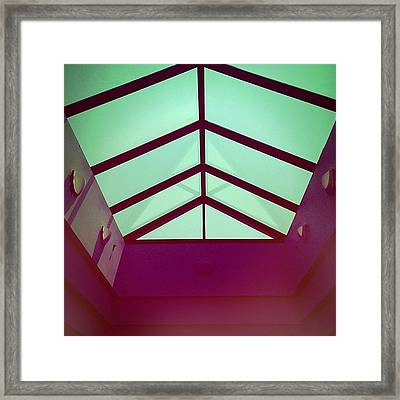 Geometrica Framed Print by Amy DiPasquale