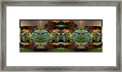 Framed Print featuring the photograph Geometrica by Robert Kernodle