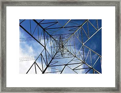 Geometry Framed Print by Nina Fosdick