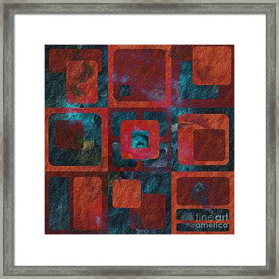 Geomix 02 - Sp07c03b Framed Print by Variance Collections