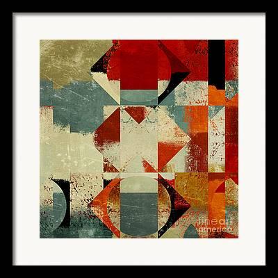 Assymetric Framed Prints
