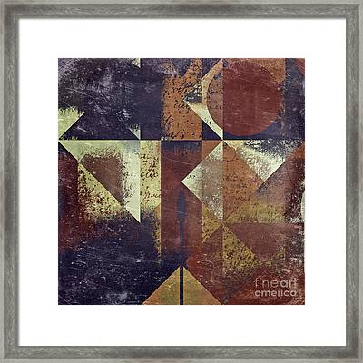 Geomix 04 - 6ac8bv2t7c Framed Print