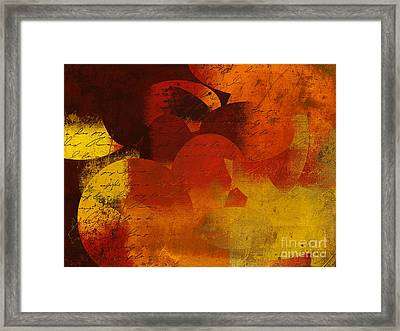 Geomix 05 - 02at02b Framed Print by Variance Collections