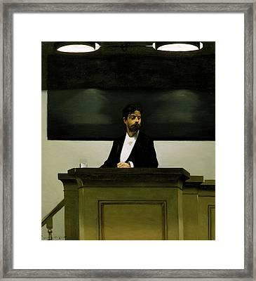 Georg Brandes  Framed Print