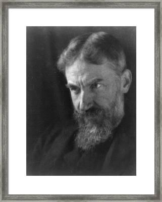 George Bernard Shaw 1856-1950 Framed Print by Everett