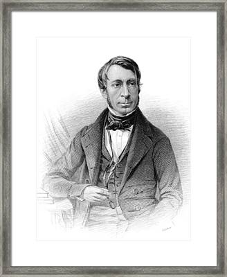 George Biddell Airy, British Astronomer Framed Print by