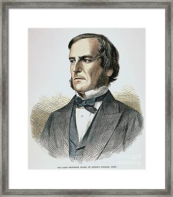 George Boole (1815-1864) Framed Print by Granger