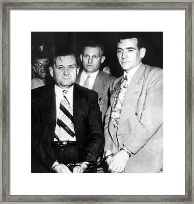 George Bugs Moran And Virgil Summers Framed Print by Everett