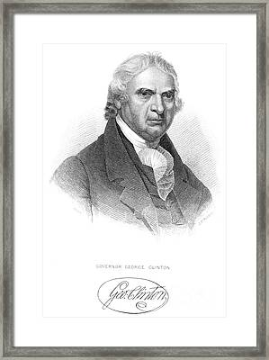 George Clinton (1739-1812) Framed Print by Granger