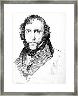 George Cruikshank (1792-1878) Framed Print by Granger