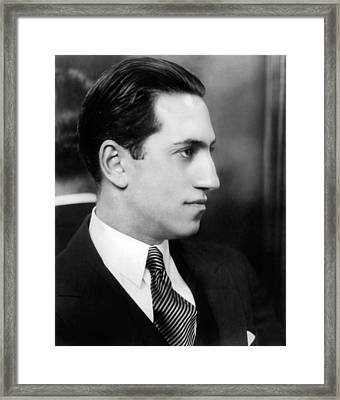 George Gershwin, Circa 1927 Framed Print by Everett