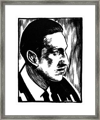 George Gershwin Framed Print by Granger