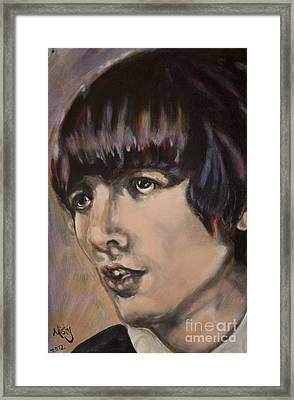 George Harrison 1 Framed Print by Misty Smith