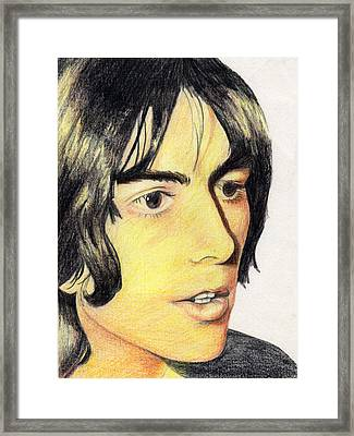 George Harrison Framed Print by Jayne Kennedy