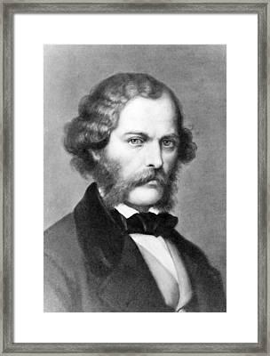George Henry Lewes 1817-1878 English Framed Print