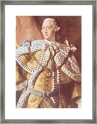 George IIi, 1738-1820, King Of Great Framed Print by Everett