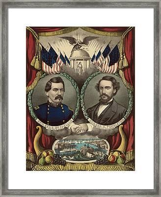 George Mcclellan 1826-1885 Framed Print