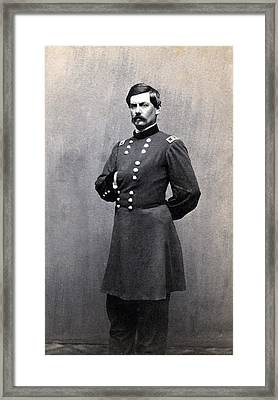George Mcclellan 1826-1885 In 1861 When Framed Print