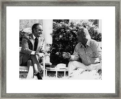 George Mcgovern, Presidential Framed Print