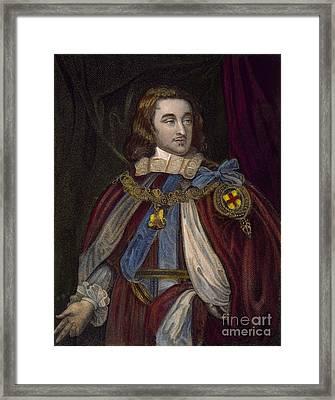 George Monck (1608-1670) Framed Print