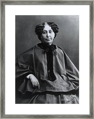 George Sand, French Author And Feminist Framed Print