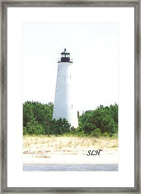 George Town Lighthouse Framed Print