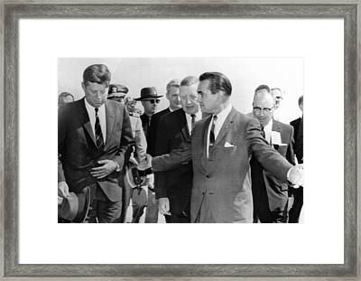 George Wallace Stepping Aside Framed Print