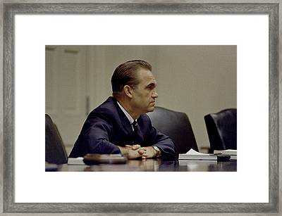 George Wallace, The Segregationist Framed Print by Everett