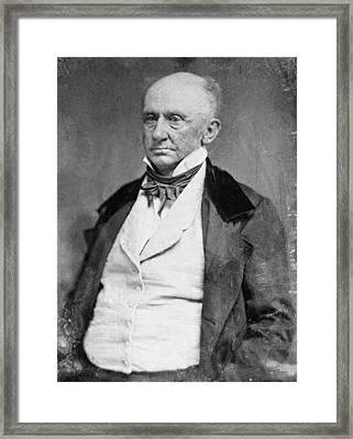 George Washington Parke Custis Framed Print by Everett