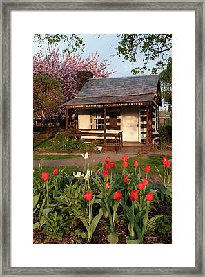 Framed Print featuring the photograph George Washington's House by Jeannette Hunt