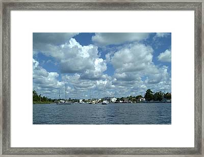 Georgetown Harbor Framed Print