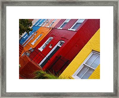 Georgetown Races Framed Print by Skip Hunt