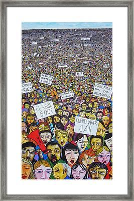Geracao A Rasca Framed Print by Mario Fresco