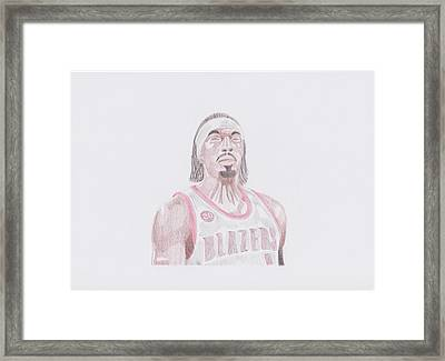 Gerald Wallace Framed Print