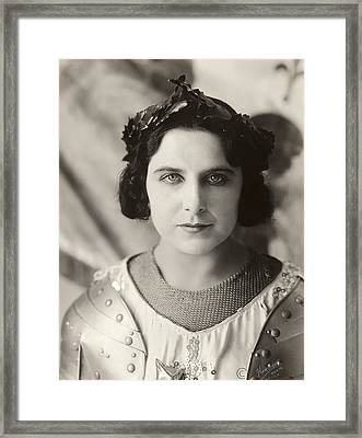 Geraldine Farrar (1882-1967) Framed Print