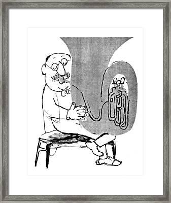 Gerard Hoffnung (1925-1959) Framed Print by Granger
