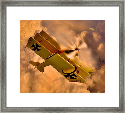 German Airplane Framed Print by Gennadiy Golovskoy