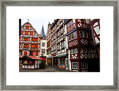 German Market One Framed Print