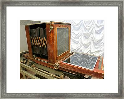German Photograph Copier From 1930 Framed Print by Ria Novosti