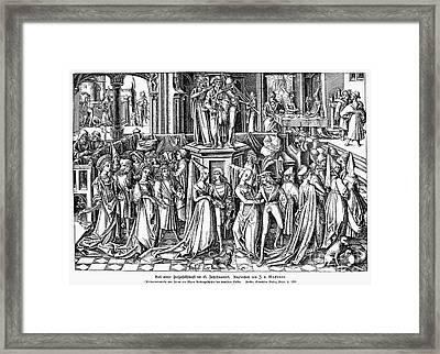 Germany: Medieval Ball Framed Print by Granger