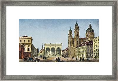 Germany: Munich, C1845 Framed Print by Granger