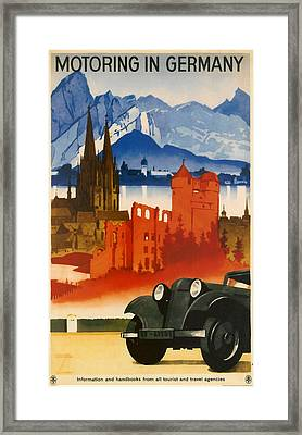 Germany Framed Print by Georgia Fowler