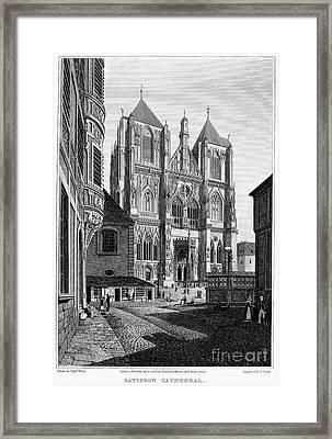 Germany: Regensburg, 1823 Framed Print by Granger