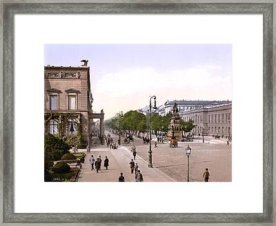 Germany, Unter Den Linden, Berlin Framed Print by Everett