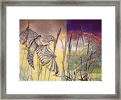 Germinate Cyclically And Learn From The Constant Challenges Framed Print by Paulo Zerbato