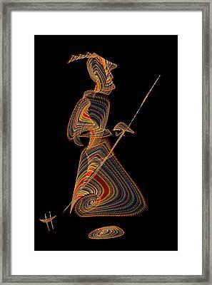 Geronimo Framed Print by Hayrettin Karaerkek