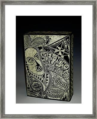 Geronimo Sugar Pops Framed Print by Ken McCollum